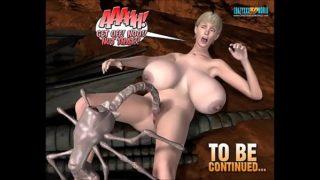 3D Comic: Spermaliens. Episodes 4-5